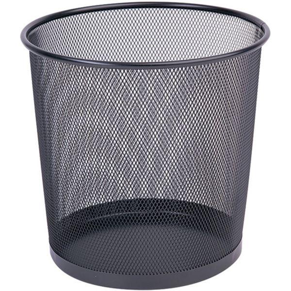 Koš drátěný Q-CONNECT, 12 l, černý