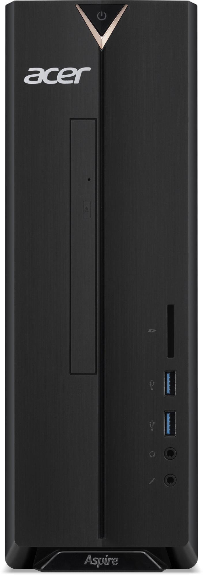 Acer Aspire XC-330, černá Servisní pohotovost – Vylepšený servis PC a NTB ZDARMA (DT.BD2EC.005) - obrázek č. 0